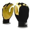 Cordova Mechanics Gloves Pit Pro Activity Deerskin Palm Fingertips