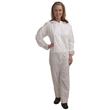 Cordova Heavy Weight White Polypropylene Coverall CO55