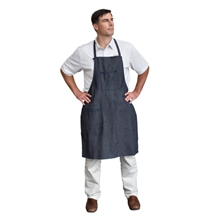 Cordova Denim Apron Sewn Ties 1 Chest Pocket DA2T