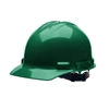 Cordova Faceshields Duo Forest Green Cap Style Helmet: 4 Point H24R9
