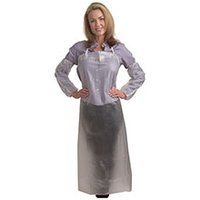 Cordova 6 Mil Clear Vinyl Apron Tied Strings RA06C48