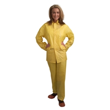 Cordova RS103Y Value-Line .10mm PVC Rainsuit