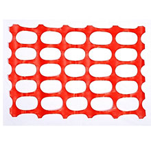 Cordova Safety Fence Oval Pattern Orange Color SF1201