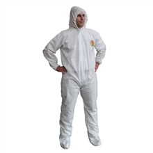 Cordova C Max White Sms Coverall Hood Boots SMS400
