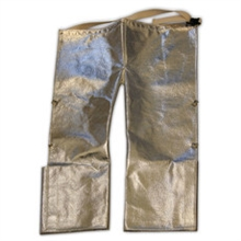 Chicago Protective Apparel FR 19 Oz. Aluminized Carbon Kevlar Step In 778-ACK