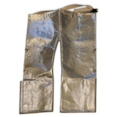 d24be2a79a9b Chicago Protective Apparel FR 19 Oz. Aluminized Carbon Kevlar Step In  778-ACK