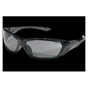 Crews Safety Safety Glasses ForceFlex Opaque Black FF122