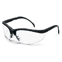 Crews Safety Safety Glasses Klondike Black Frame KD110