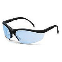 Crews Safety Safety Glasses Klondike Black Frame KD113