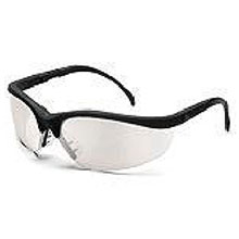 Crews Safety Safety Glasses Klondike Black Frame KD119