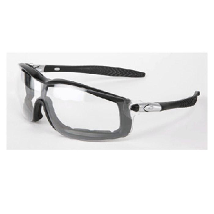 523ac8f5ee5 Crews Safety Safety Glasses Rattler Black Frame RT110AF