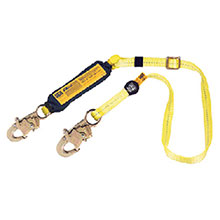 DBI/SALA Lanyard 1in X 6 Ez Stop II Adjustable Length Shock 1240256