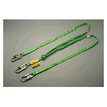 Miller Honeywell Lanyard 6 Green Two Leg Manyard HP Shock Absorbing 232TWLS6FTGN