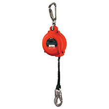 Miller Honeywell Life Line 16 Web Falcon SRL Self Retracting Lifeline MP16P16FT