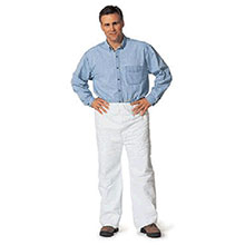 Dupont  Large White 5.4 mil Tyvek Disposable Pants TY350SWHLG00