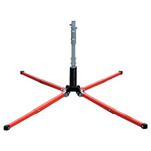Dicke DTCSUF2000W Safety Products UniFlex Compact Sign Stand For Roll-Up Signs With Dual Torsion Spring