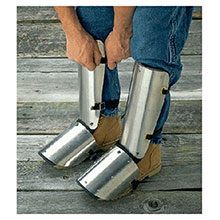 Ellwood Safety Appliance Boots 20in Aluminum Shin Instep Guard 323