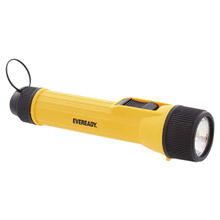 Energizer E33EVINL21S Yellow Industrial Economy Flashlight With LED