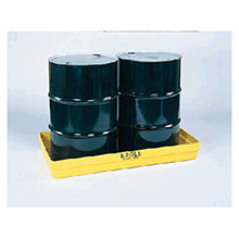 Eagle Manufacturing Two Drum Polyethylene Modular Spill Containment 1631