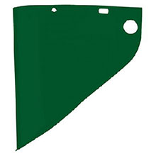 Fiber-Metal Honeywell Faceshields 4199 9 3 4in X 19in X .060in Dark Green 4199DGN