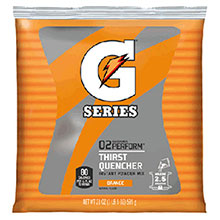 Gatorade 21 Ounce Instant Powder Pouch Orange Electrolyte 3970
