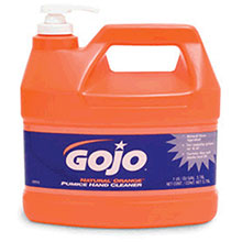 Go-Jo Industries 1Gallon Bottle Natural Orange Orange Citrus 0955-04