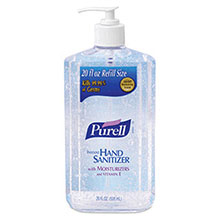 Go-Jo Industries 20 Ounce Pump Bottle Clear Purell Advanced 3023-12