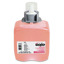 Go-Jo Industries 1250 ml Refill Translucent Pink FMX 12 Cranberry 5161-03