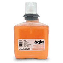 Go-Jo Industries 1200 ml Refill Translucent Apricot TFX Fresh 5362-02