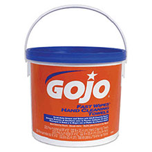 Go-Jo Industries 225 Count Bucket Fast Wipes Hand Cleaning 6299-02