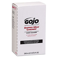 Go-Jo Industries 2000 ml Refill Supro Max Cherry Scented 7282-04