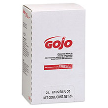 Go-Jo Industries 2000 ml Refill Power Gold Hand Cleaner 7295-04