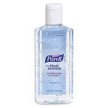 Go-Jo Industries 4 Ounce Bottle Purell Instant Hand Sanitizer 9651-24