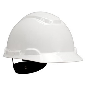 3M Hard Hat White 4 Point Ratchet Suspension H-701V-UV