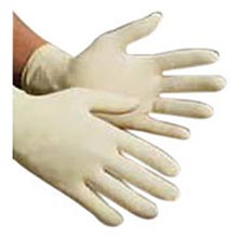 "High Five Natural 9 1-2"" E-Grip Max 5.1 mil Latex HF2L922 Medium"
