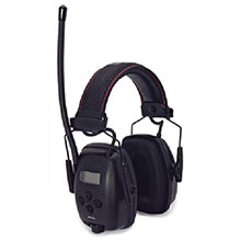 Howard Leight Honeywell Sync Over The Head Digital AM FM Radio Earmuffs 1030331