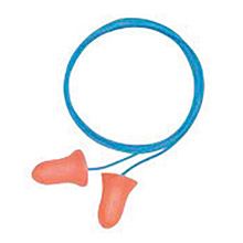 Howard Leight by Honeywell HLIMAX-30 MAX-30 Single Use Max Bell Shape Polyurethane Foam Corded Earplugs With Poly Cord