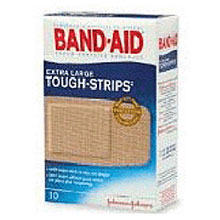Johnson & Johnson 1 3 4in X 4in Band Aid Tough Strips X Large 4424
