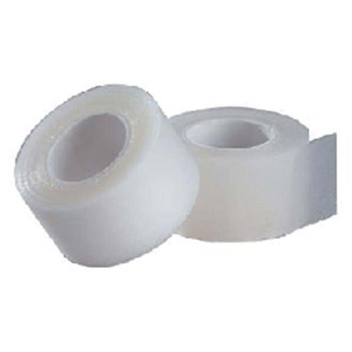 johnson johnson 1in x 10 yard roll clear band aid red 4815