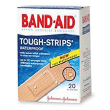 Johnson & Johnson 1in X 3 1 4in Band Aid Tough Strips Waterproof 4833