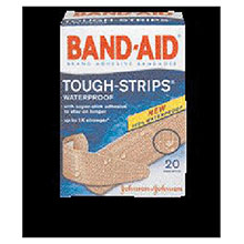 Johnson & Johnson Assorted Sizes Band Aid Tough Strips 4834