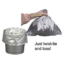 Justrite Manufacturing Disposable Bucket Liner Smoking Receptacles 26827