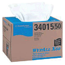Kimberly-Clark Professional 12 1 2in X 16.8in White WYPALL X60 Terry 34015