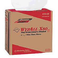 Kimberly-Clark Professional 12.5in X 16.8in White WYPALL X80 1 4 Fold 41048