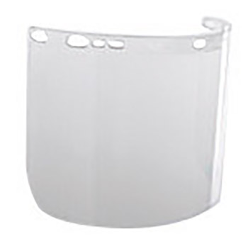 "Kimberly-Clark Professional K4529087 Jackson Safety Model F50 8"" X 15 1/2"" X .06"" Clear Unbound Polycarbonate Faceshield For Use With Headgear"