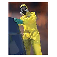 Lakeland Industries Chem Max 1 Coverall, Hood, Elastic Face & Wrists, C1T13OY