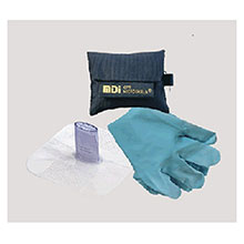 Medical Devices CPR MicroKey Pro CPR Kit Gloves 72-490