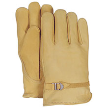Majestic Drivers Gloves Full Grain Strap 1509