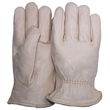 Majestic Drivers Gloves Cow Keyst.Th. Rolled Hem 1510BA