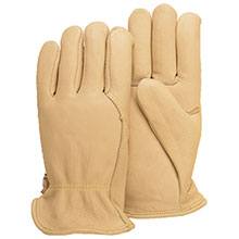 Majestic Drivers Gloves Cow Wing Thumb 1510W